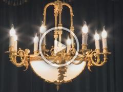 Video đèn chùm Tôn Vua Vinh Hiển