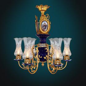 Bạn đã biết gì về đèn chùm đồng Thiên Lý Mã?