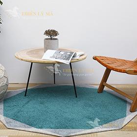 Mùa hè chọn thảm trang trí bàn trà phòng khách màu nào là phù hợp?