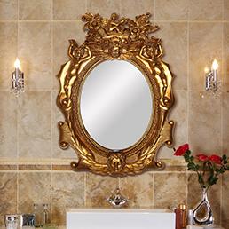 Các không gian sử dụng gương trang trí phù hợp nhất?