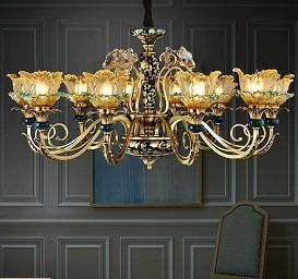 Những ưu điểm của đèn chùm cổ châu Âu được cung cấp bởi Thiên Lý Mã