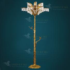 Đèn cây bạch dương pha lê