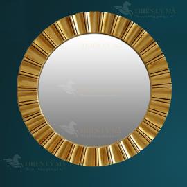 Gương trang trí tròn