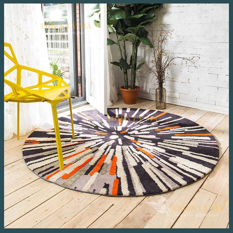 Thảm tròn