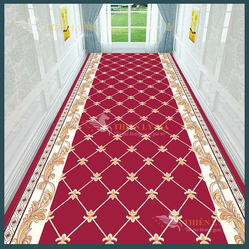 Thảm đỏ hành lang lối vào cao cấp
